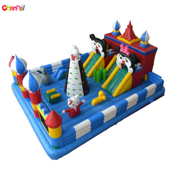 Inflatable playground on sale inflatable amusement park