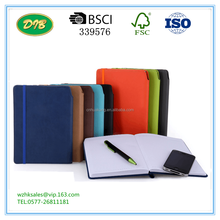 Leather,pu leather Cover Material and Gift Usage wenzhou notebook