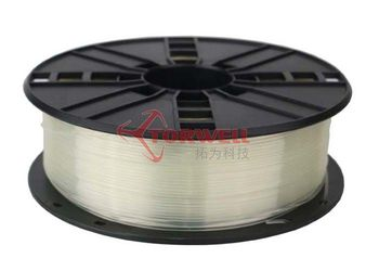Transparent ABS/PLA Filament for 3D printers.(High quality) 30 colors available