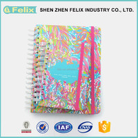 Hardcover Agenda Daily Planner Printing Custom Design Notebook Stationery Wholesale
