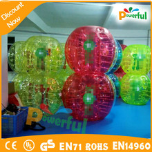 Cheap bubble soccer ball for rental knockerballs inflatable bubble soccer