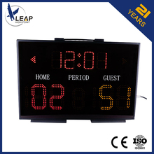 Tabletop Digital Led Electronic Mini Basketball Scoreboard