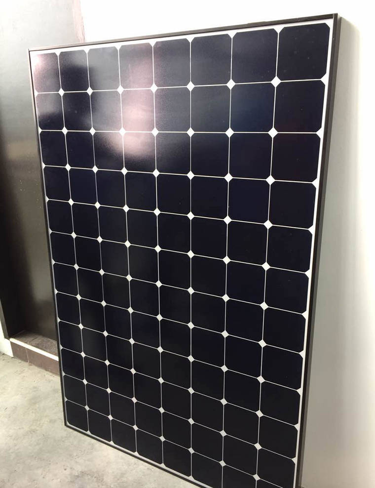 2017 Sunpower 327w hot sale mono crystalline solar module/panel,MONO CRYSTALLINE MODULE with CE and TUV