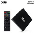 X96 Android Tv Box S905X Android 6.0 Tv Box Amlogic S905 Tv Box 1080p video download digital cable tv set top box