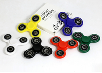 Black Quick Full Si3n4 Fidget Spinner