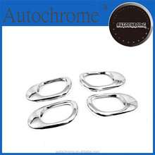 Chrome car trim accent styling gift, Chrome Interior Door Handle Surround Bezel - for Peugeot 206 / 206CC