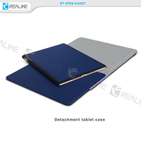 multi functional book style cooling leather case for ipad 6,leather cover case for ipad 6