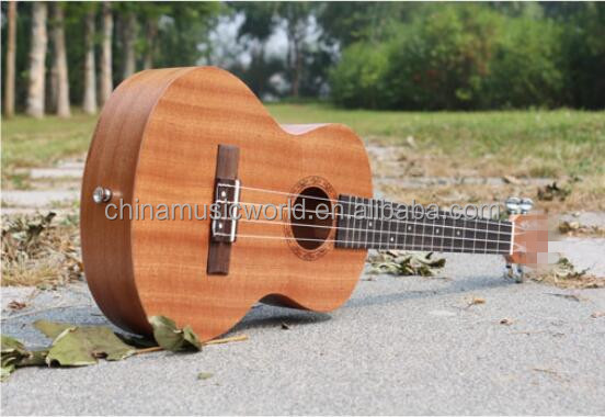 Excellent 21/23 Inch little guitar Four strings Ukulele (AUK-087)