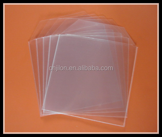 Black Refill Sleeves for DVD/CD with 3 Binder Holes for 8 Disc