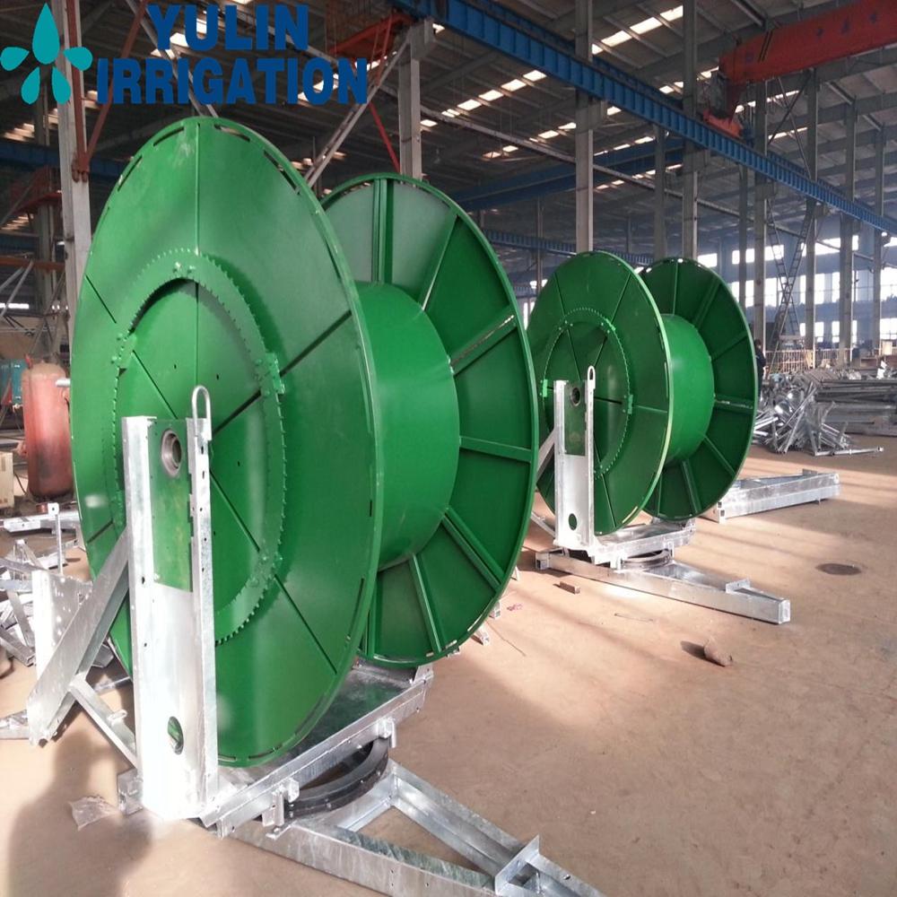 Yulin factory sprinkler gun irrigator for hard hose reel