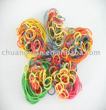 mini colored rubber bands for diameter 10mm