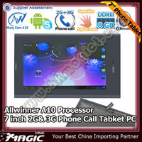 hot android allwinner a10 1.2 ghz gpu mali 400 tablet pc