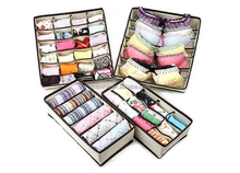 Storage Boxes, Closet Organizers, Under Bed Organizer, for Clothing, Shoes, Underwear,