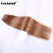 Human brazilian hair weft straight hair extention and wigs for black women