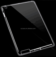 High Clear Transparent Case Cover Ultra-thin TPU Case For Ipad 2/3/4
