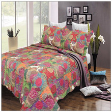 New product simple design quilt cover and bed sheet on sale