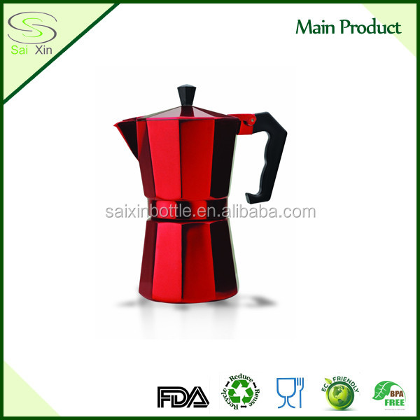 2016 OGNIORA NEW Classical Aluminum Mocha Coffee Maker/ Coffee Pot by Bialetti Supplier Provide