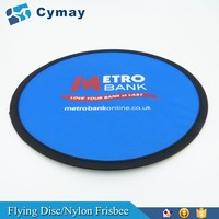 Custom Nylon Frisbee,foldable frisbee fan, Flying Disc