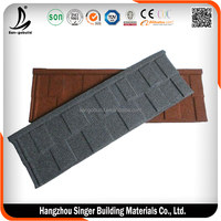 Decorative Stone Coated Metal Tile Shingle, High Quality Stone Coated Metal Roof Tile, Building Materials-1
