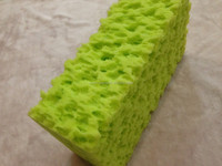 effective high elasticity stainless delicate foam car washing coral sponge