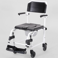 C200C hospital handicap commode wheelchair toilet chair