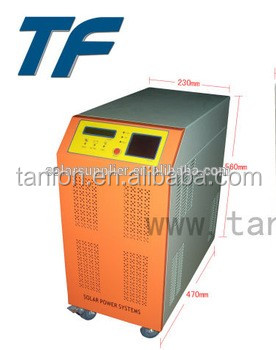 home solar inverter / individual generators 1KW 2KW 3KW 5KW 10KW pure sine wave / <strong>DC</strong> to AC 2years warranty