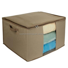 600D Canvas Foldable Large Waterproof Capacity Storage Box With Zipper