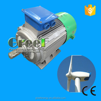 Small Permanent Magnet Generator for 700w 20rpm used for family use