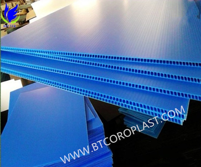 Wholesale for Recycled Plastic PP Hollow Sheet/Board