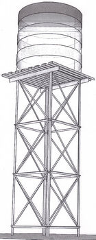 Water Storage Tank Stands