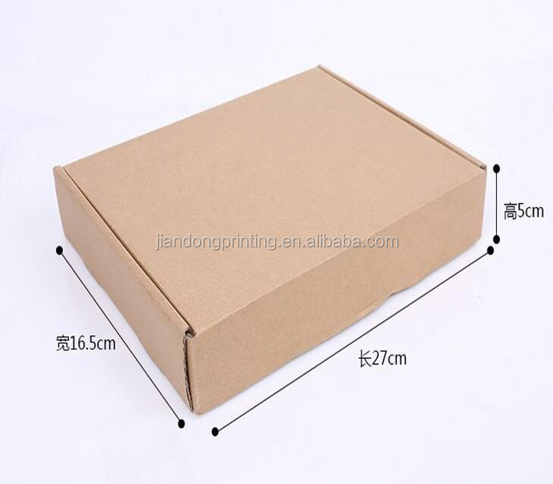 3-ply carton box / corrugated box / kraft paper package