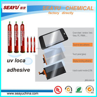 uv3317- uv loca glue for LCD touch screen ITO to glass