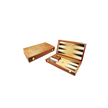 Custom Matte Finish Lacquer Backgammon Set
