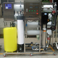 factory price reverse osmosis 4000LPH with sintex water tank