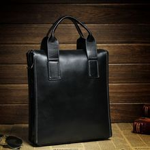 conference men leather shoulder bag