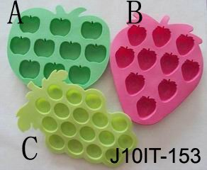 Silicone fruit tray