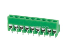 contact number 10 pin 3.96 mm single screw terminal block connector