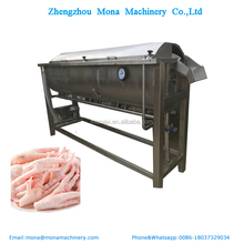 Newly Design Industrial Chicken Paw Cutter Claw Cleaning Machine Chicken Feet Production Line