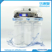 Household ro water purification system ABS plastic national water filter for kitchen room