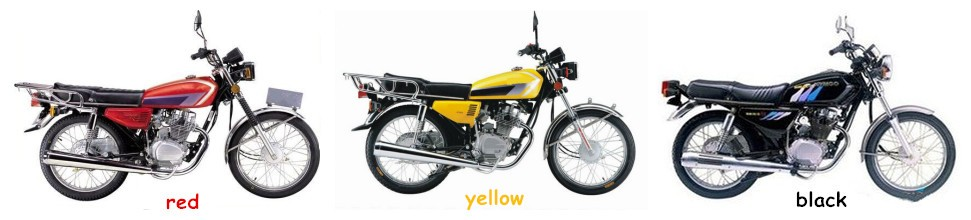 China Street Popular in Nigeria Mark 125cc 4-Stroke Motorcycle