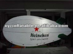 Giant promotional blimp advertising, inflatable blimp