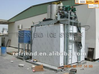 Industrial Flake Ice Maker With Ice Storage 10T