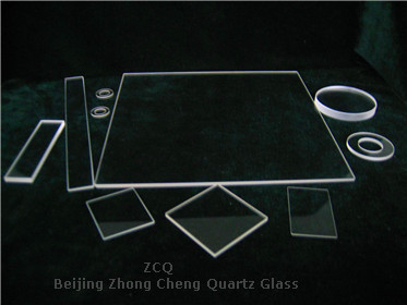 Square ultra thin Quartz Glass Window