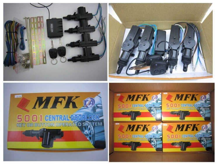 Universal MFK 5001 remote central locking system for all 12v cars