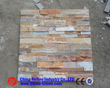Hot selling landscaping slate culture stone ,natural rusty wall cladding slate