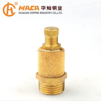 Brass Fitting Pneumatic Silencer muffler