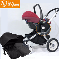 Light aluminum alloy to the high-quality Land Leopard baby pushchairs include carrycot, seat unit &coordinating adapter