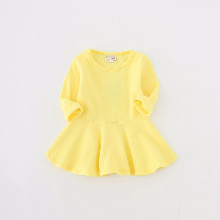 Custom New Design Oem Factory Cotton Picture Of Children Casual Dress