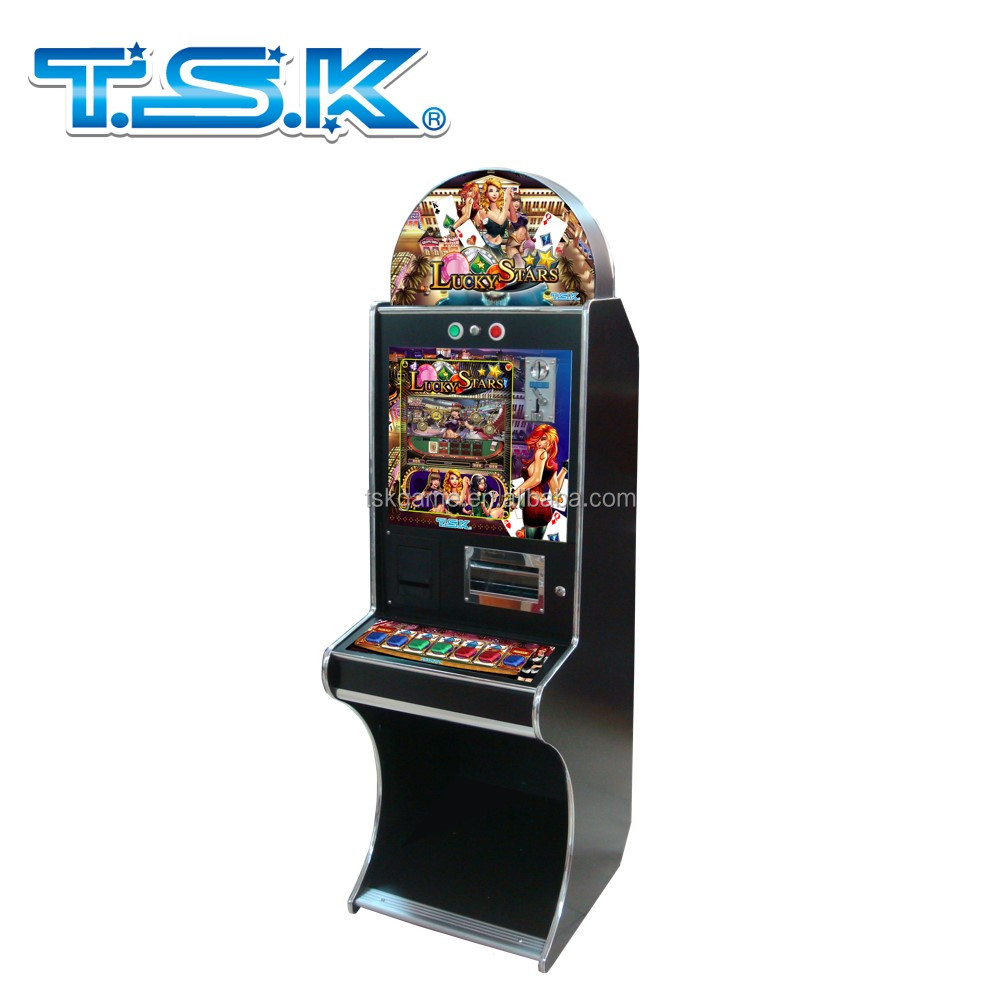 TSK Taiwan Lucky Stars mario arcade poker game machine casino slot
