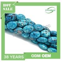 China supplier prices turquoise stone beads, rain flower stone, precious stone beads
